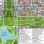 Printable Map Washington Dc | National Mall Map   Washington Dc   Printable Map Of Washington Dc