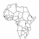 Printable Maps Of Africa   Maplewebandpc   Blank Outline Map Of Africa Printable