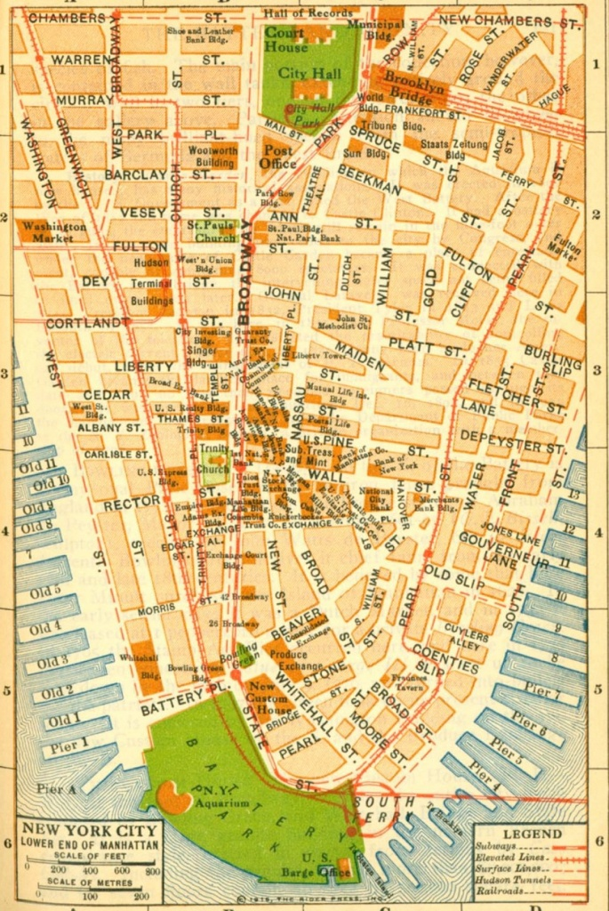 Printable New York City Map | New York City Map Printable Pictures 2 - Manhattan City Map Printable