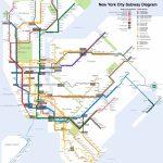 Printable New York City Map   New York City Subway Map Page Below - Printable New York Subway Map