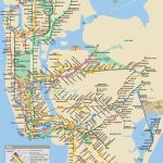 Printable Nyc Subway Map | Woestenhoeve - Nyc Subway Map Manhattan Only Printable