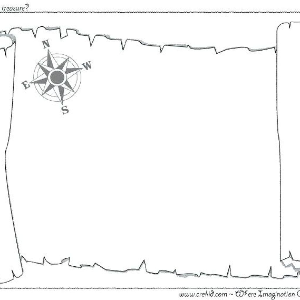 Printable Pirate Map Free Birthday Clipart   House Clipart Online - Printable Treasure Map Template