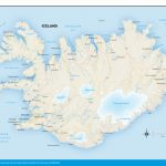 Printable Road Map Of Iceland And Travel Information | Download Free   Free Printable Travel Maps