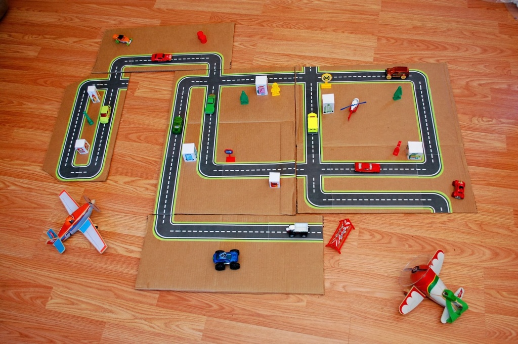 Printable Roads For Kids' Toy Cars | So Here's My Life - Printable Road Maps For Kids