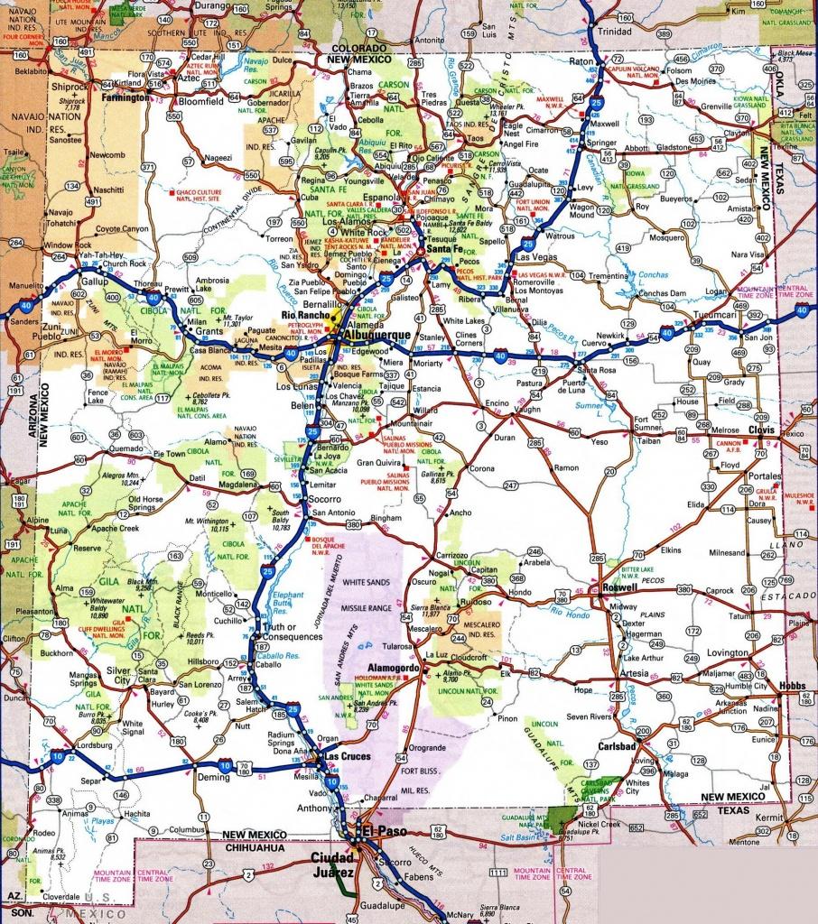 Printable Texas Road Map - Maplewebandpc - Detailed Road Map Of Texas
