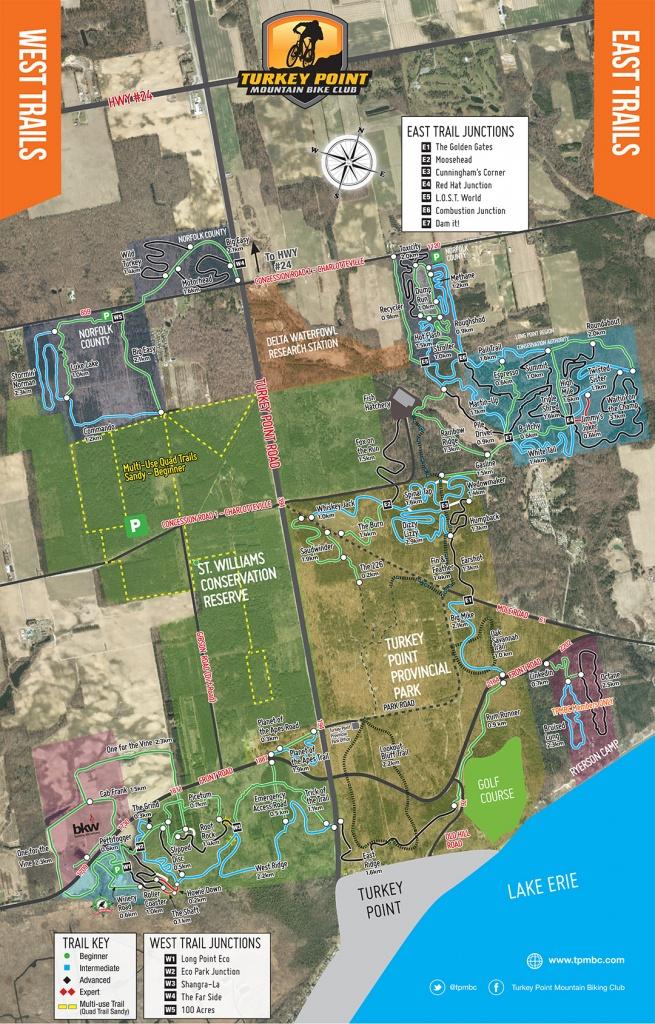 Printable Trail Map | Tpmbc - Printable Trail Maps