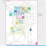 Printable Travel Maps Of Mexico City, Mexico | Mexico City | Mexico - Printable Map Of Mexico City