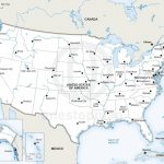 Printable Us Map With Major Cities And Travel Information | Download   Printable Us Map With Cities