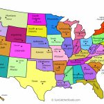 Printable Us Maps With States (Outlines Of America - United States) - Free Printable Us Map With States And Capitals