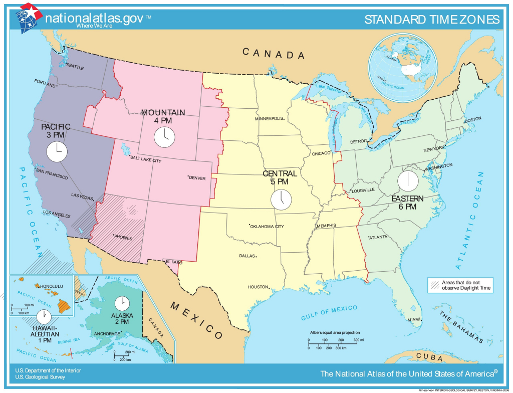 Printable Us Time Zone Map With States New Time Zone Map Usa - Printable Time Zone Map Usa With States