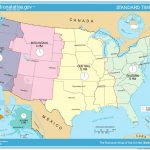 Printable Us Time Zone Map With States New Time Zone Map Usa - Printable Time Zone Map With States