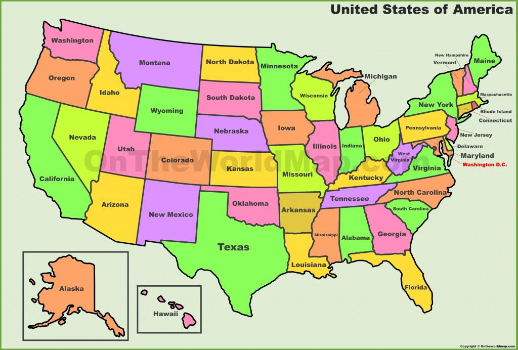 Printable Usa Map Pdf   D1Softball - Us Map Printable Pdf