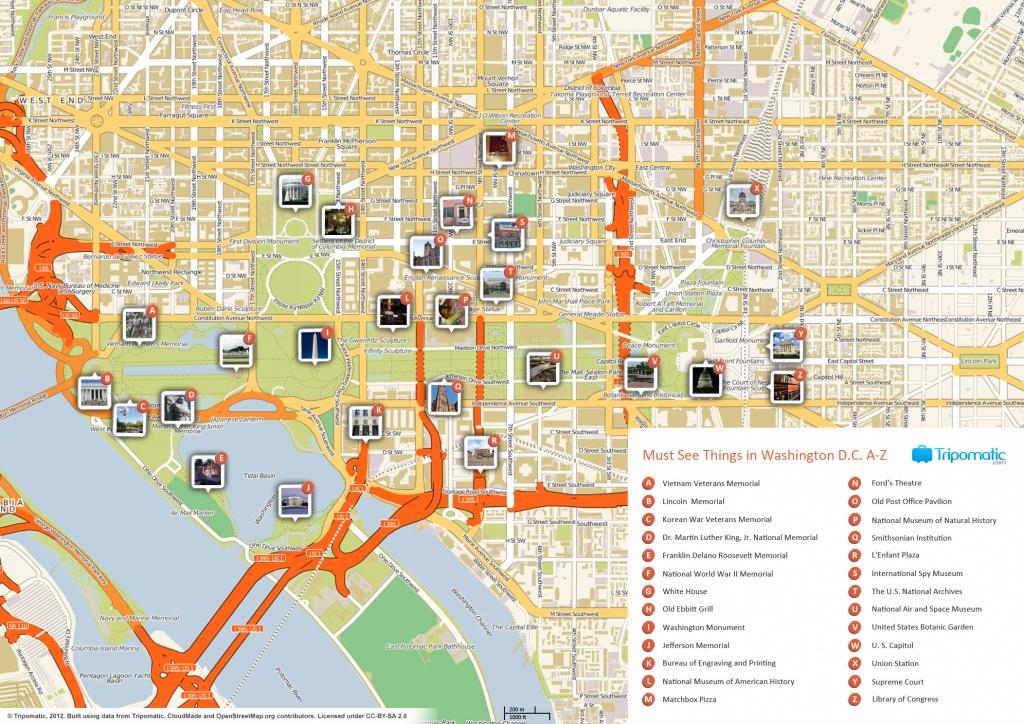 Printable Walking Map Of Washington Dc (63+ Images In Collection) Page 1 - Printable Walking Map Of Washington Dc