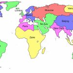 Printable World Map For Kids With Country Labels – Loveandrespect – Printable World Map For Kids