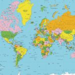 Printable World Map Free | Sitedesignco   Free Printable World Map Images