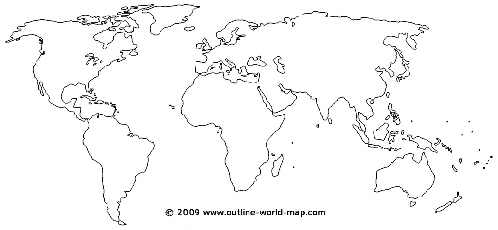 Printable World Map - World Wide Maps - Blank Map Printable World