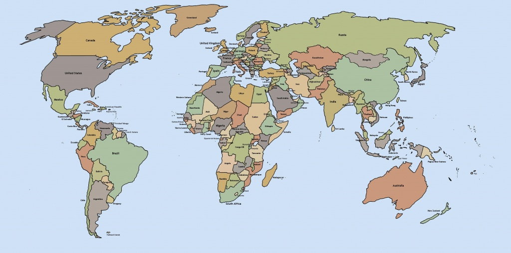 Printable World Maps - World Maps - Map Pictures - World Map Printable Pdf