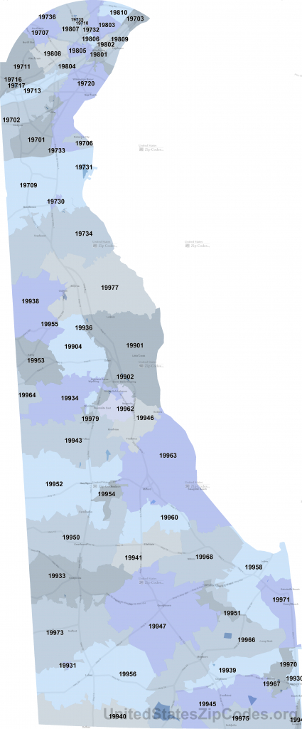 Printable Zip Code Maps - Free Download - Chicago Zip Code Map Printable