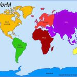 Printable+World+Map+7+Continents | Computer Lab | World Map   7 Continents Map Printable