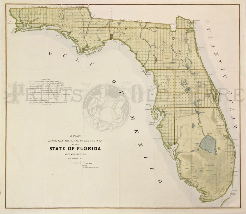 Prints Old & Rare - Florida - Antique Maps & Prints - Boating Maps Florida