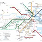 Project: Boston Mbta Map Redesign | Zertocon | Subway Map, Map, Boston - Mbta Subway Map Printable