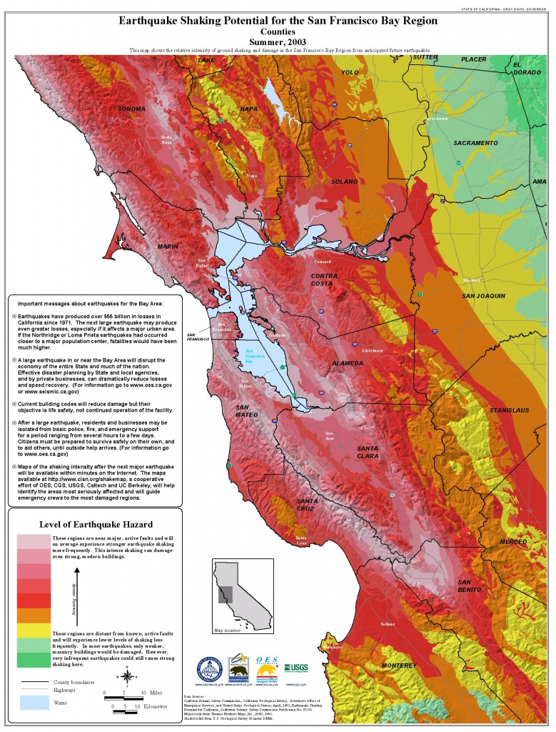 Publications - California Seismic Safety Commission - Earthquake California Index Map