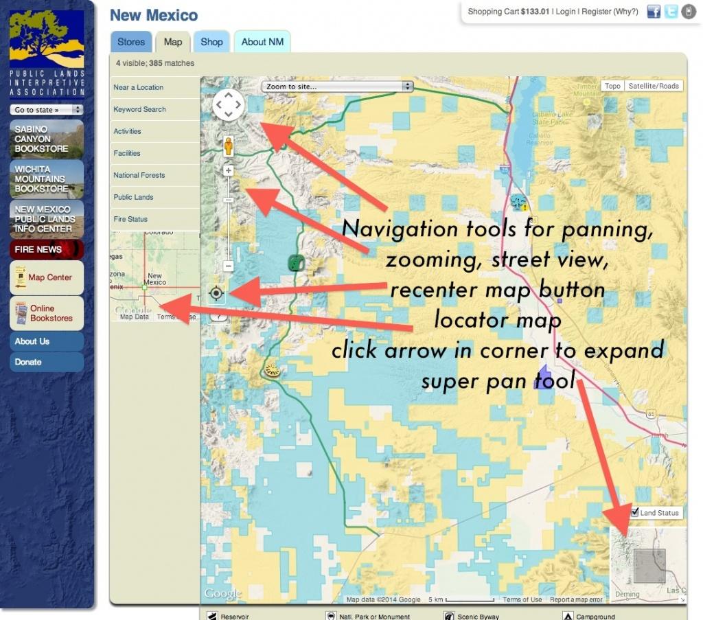 Publiclands | Nevada - Blm Land Map California