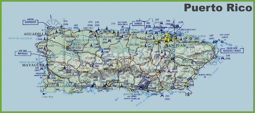 Puerto Rico Maps | Maps Of Puerto Rico - Printable Map Of Puerto Rico With Towns