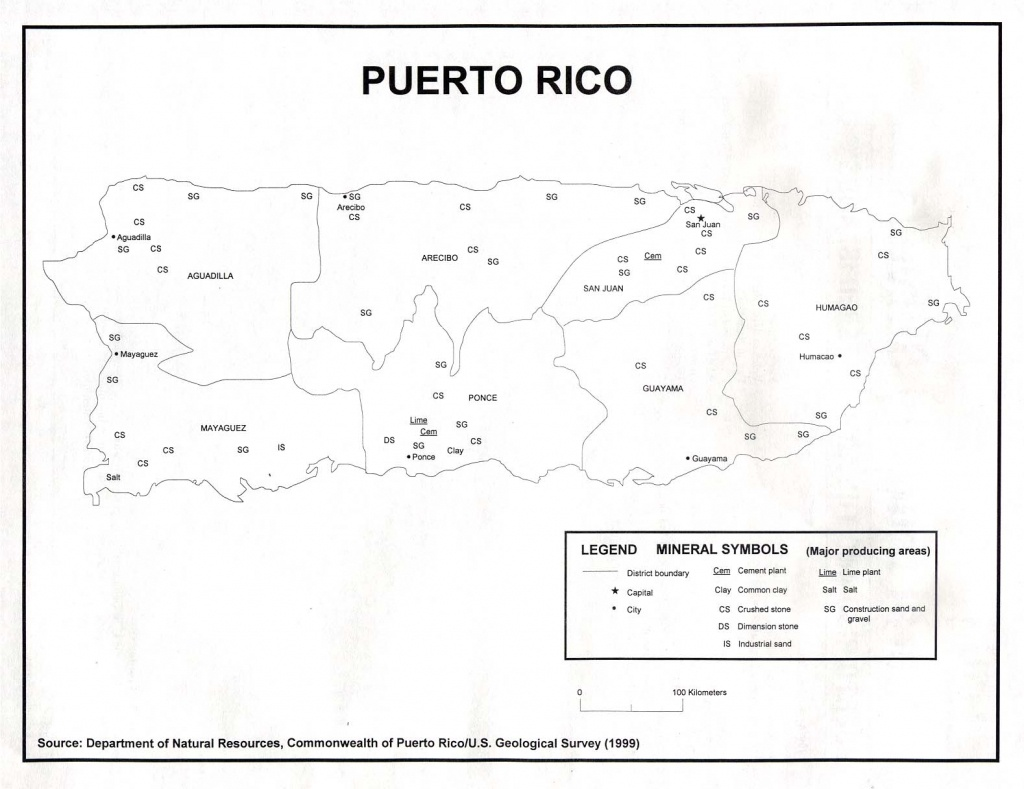 Puerto Rico Maps - Perry-Castañeda Map Collection - Ut Library Online - Printable Map Of Puerto Rico For Kids