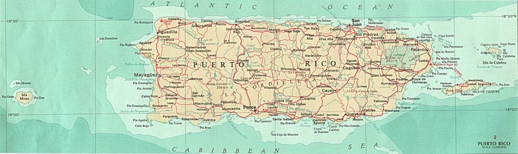 Puerto Rico Maps - Perry-Castañeda Map Collection - Ut Library Online - Printable Map Of Puerto Rico With Towns