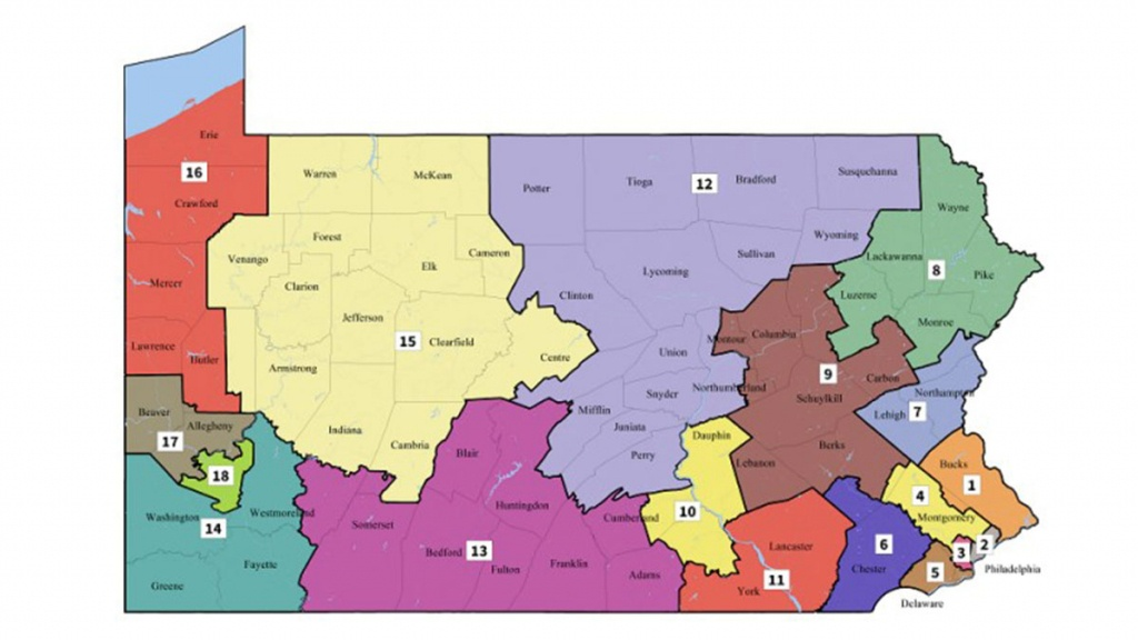 Q&a: What Led To Pennsylvania's Redrawn Congressional Map? - Nbc 10 - Florida 6Th Congressional District Map