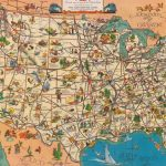 """Quite Interesting On Twitter: """"a 1935 'good Natured Map' Of   Greyhound Map California"""