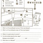Reading Maps Worksheet Free Worksheets Library Download And   Printable Map Skills Worksheets