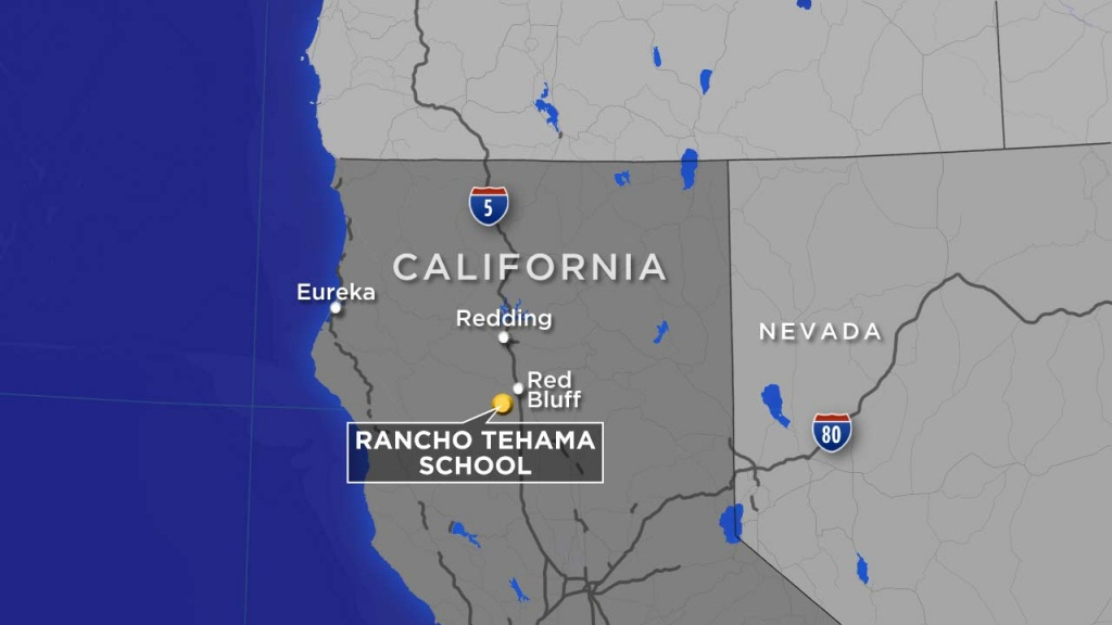 Red Bluff, Tehama County Shootings: What We Know So Far   Abc13 - Red Bluff California Map