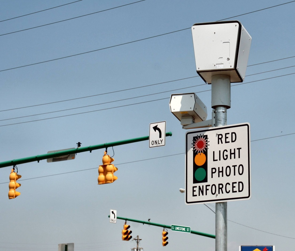 Red Light Camera Tickets In California | Wk - Red Light Camera California Map
