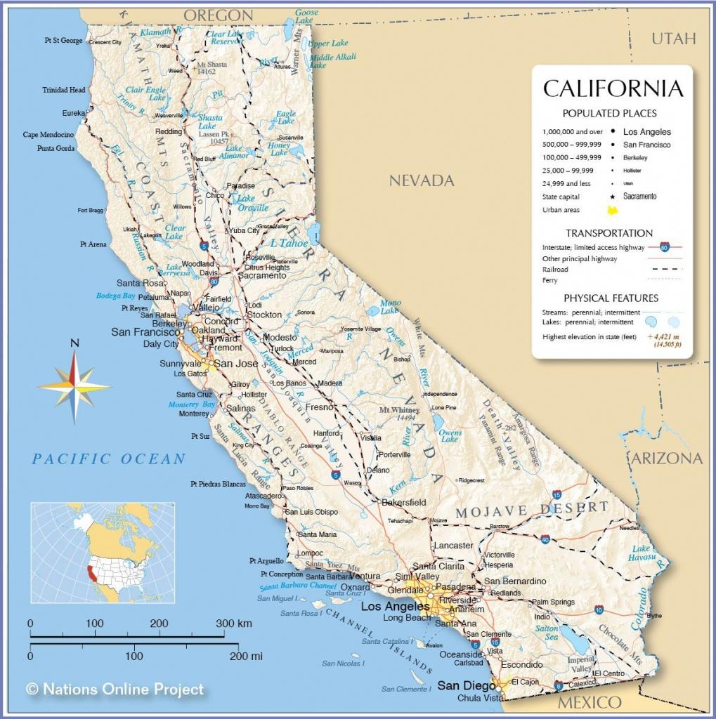 Reference Map Of California | California | California Map - Google Maps Sacramento California