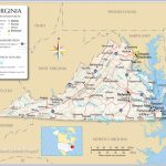 Reference Maps Of Virginia, Usa   Nations Online Project   Printable Map Of Virginia