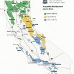 Region 5   Contracting   California National Forest Map