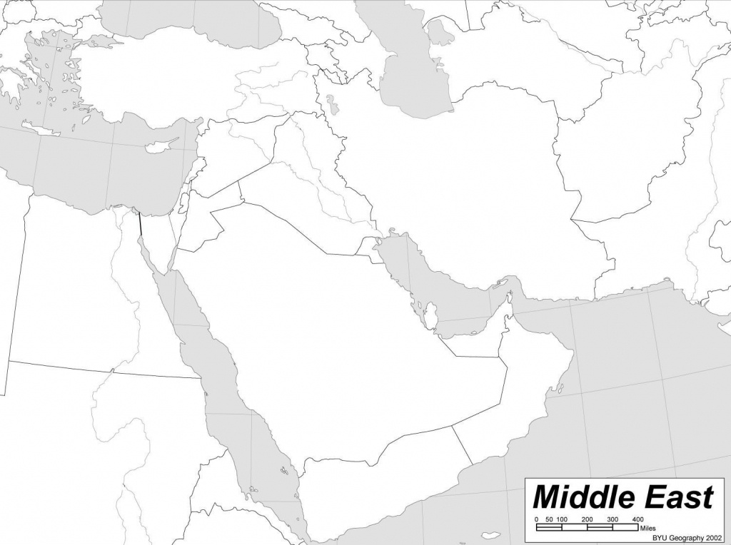 Reportage Les Bedouins Du Wadi Rum Vivre E Valid Map Of Printable - Printable Blank Map Of Middle East