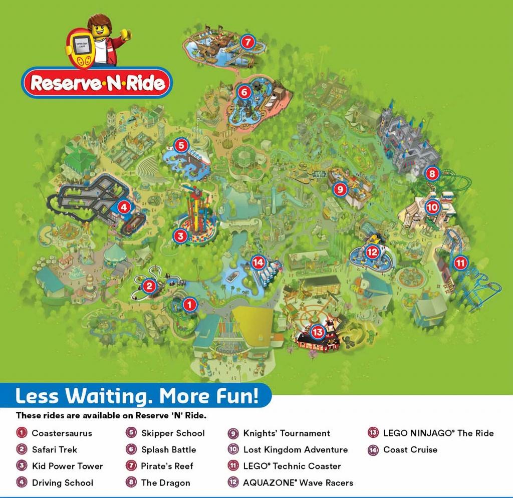 Reserve 'n' Ride System   Legoland California Resort - Legoland California Map