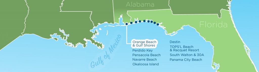 Resortquest Real Estate   Nw Fl & Al Gulf Coast Condos And Homes For - Denton Florida Map