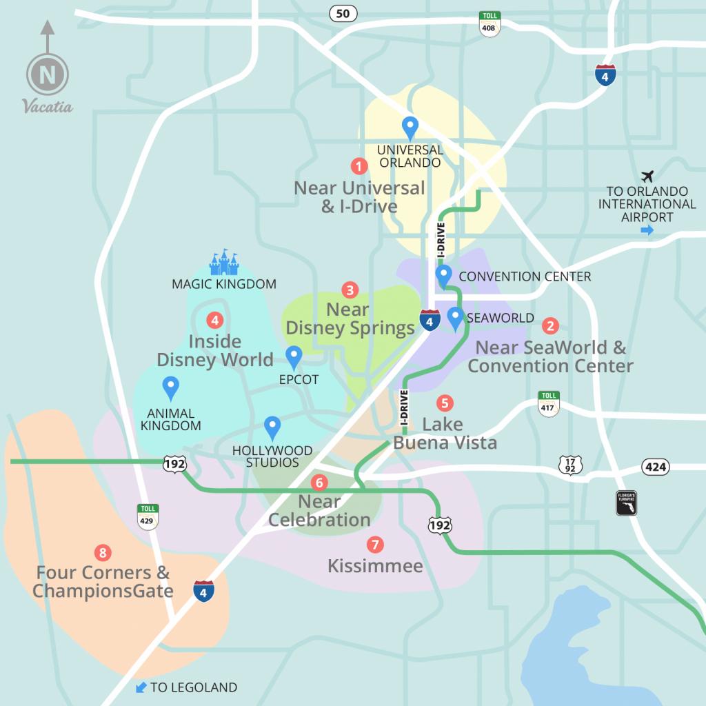 Resorts Near Disney World Orlando | Vacatia - Champions Gate Florida Map