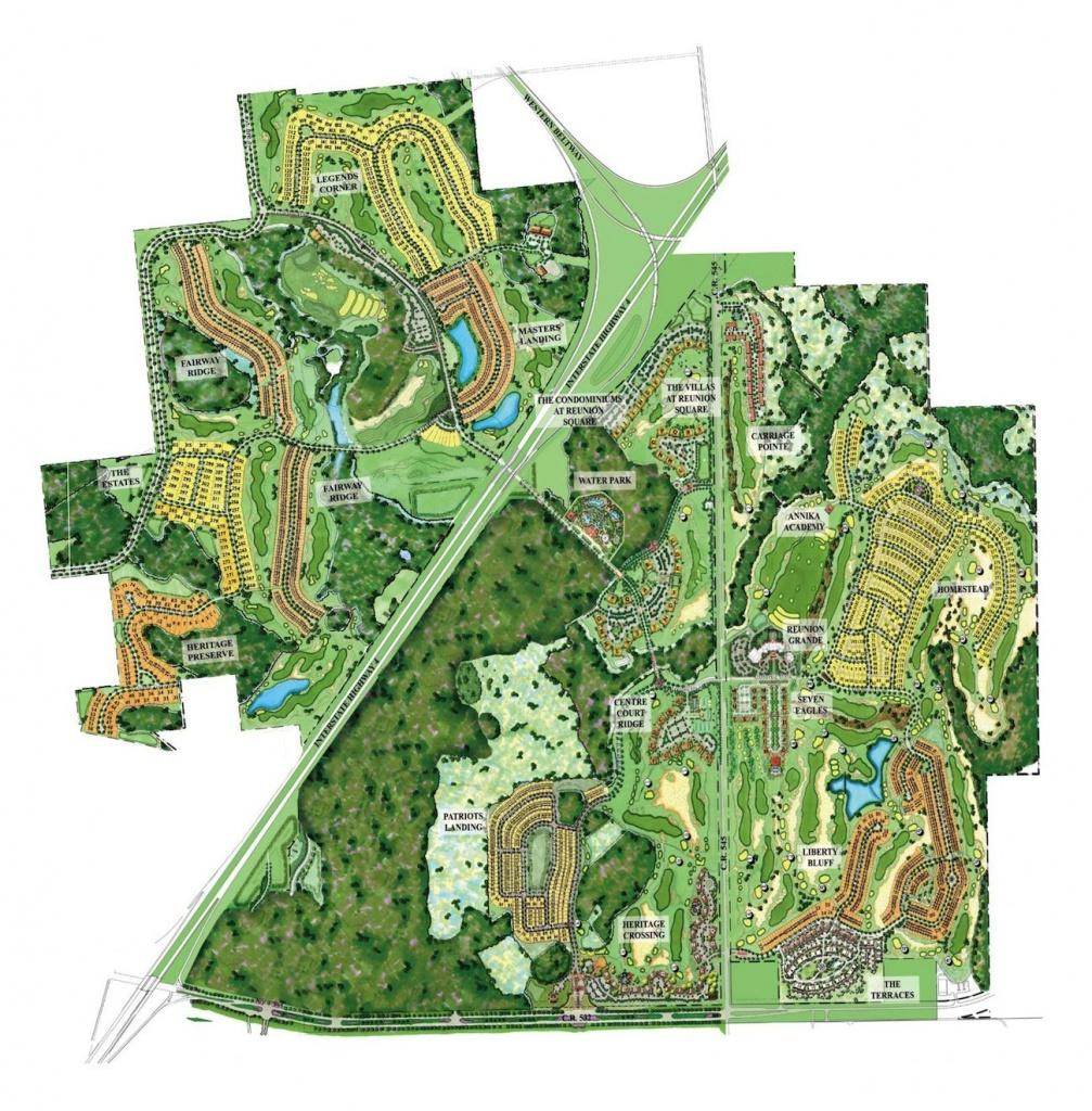 Reunion Resort Map #reunion_Resort_Map | Disney Vacation Trip - Reunion Florida Map