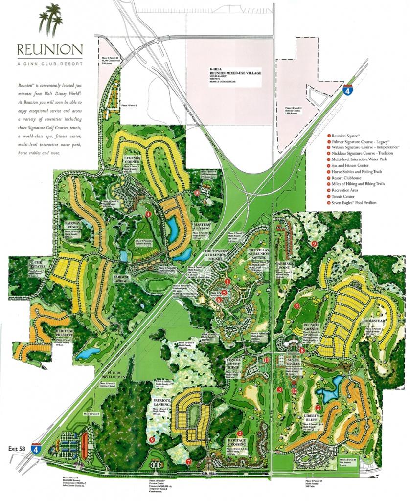 Reunion Resort Orlando Map : Most Beautiful Restaurants Nyc - Reunion Florida Map
