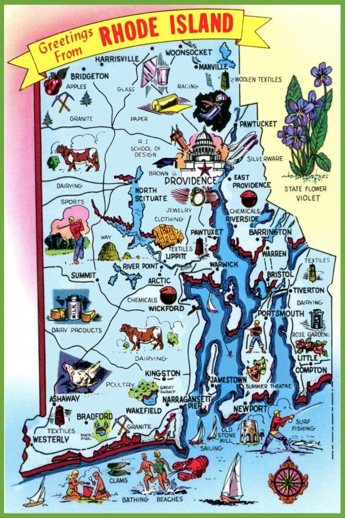 Rhode Island State Maps | Usa | Maps Of Rhode Island (Ri) - Printable Map Of Providence Ri