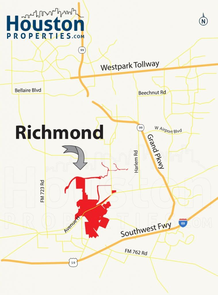 Richmond Tx Real Estate Guide | Richmond Homes For Sale - Sugar Land Texas Map