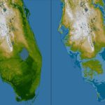 Rising Seas May Mean Tampa Bay Floods Even During Sunny Days | Wusf News   Map Of Florida After Sea Level Rise