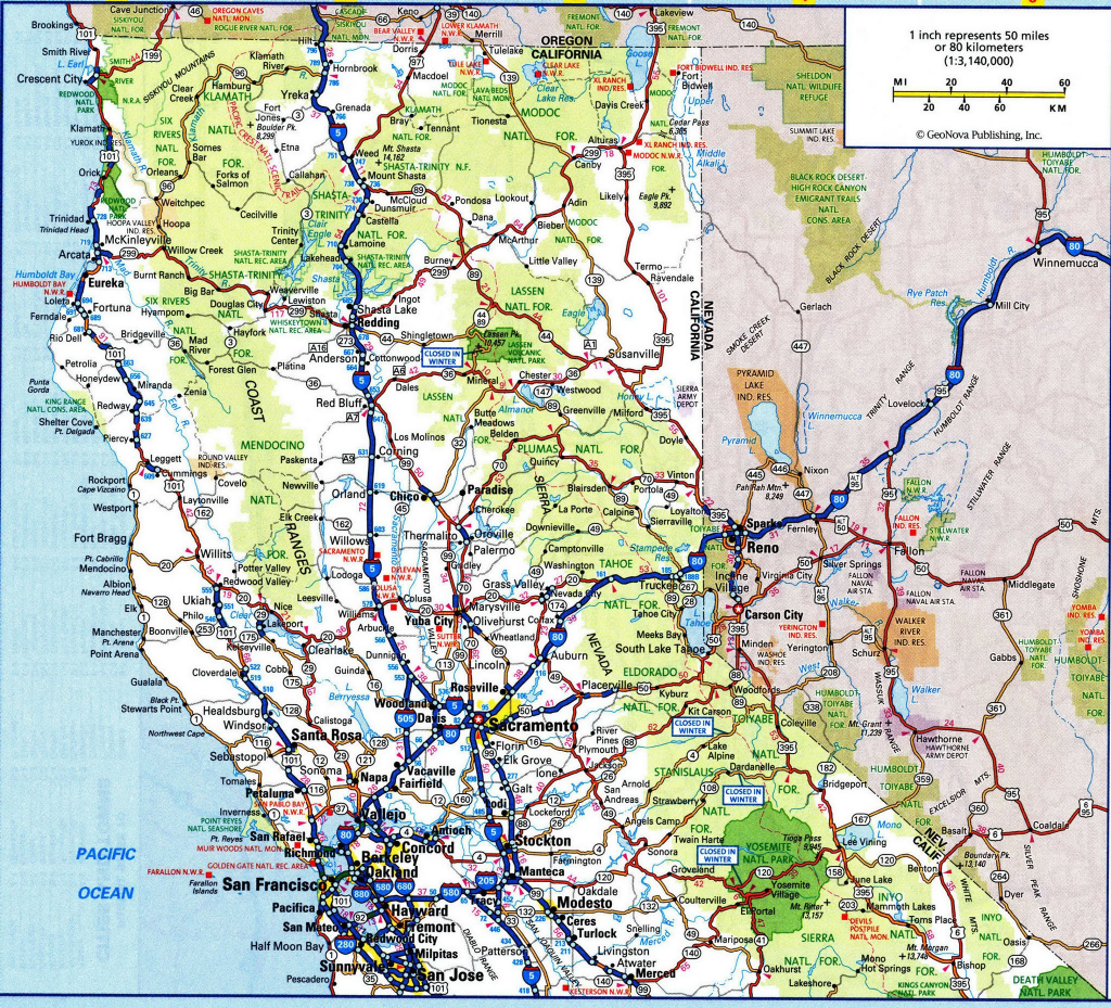 Road Map Of California And Oregon Updated Road Map Southern Oregon - Driving Map Of Northern California