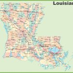 Road Map Of Louisiana With Cities   Louisiana State Map Printable