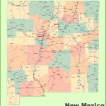 Road Map Of New Mexico With Cities Beautiful New Mexico State Road   New Mexico State Map Printable